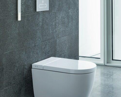 Wasch-WC mit verstellbaren Tools
